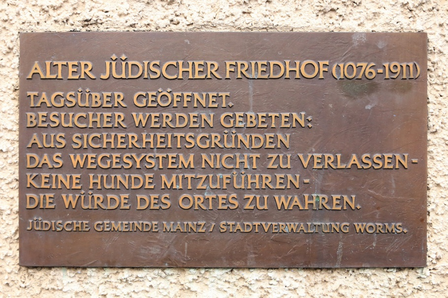 Juedischer Friedhof, Heiliger Sand, Jewish Cemetery Holy Sand, Worms, Rheinland-Pfalz, Germany, fotoeins.com