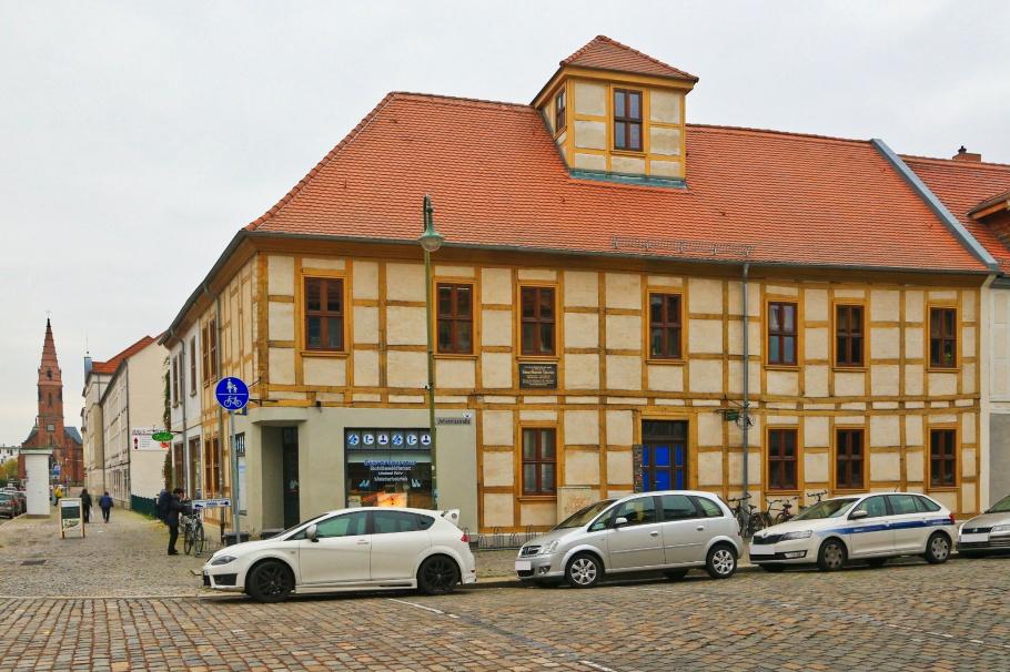 Schwabehaus, Heinrich Schwabe, sunspot cycle, Dessau-Rosslau, Saxony-Anhalt, Sachsen-Anhalt, Germany, Deutschland, fotoeins.com