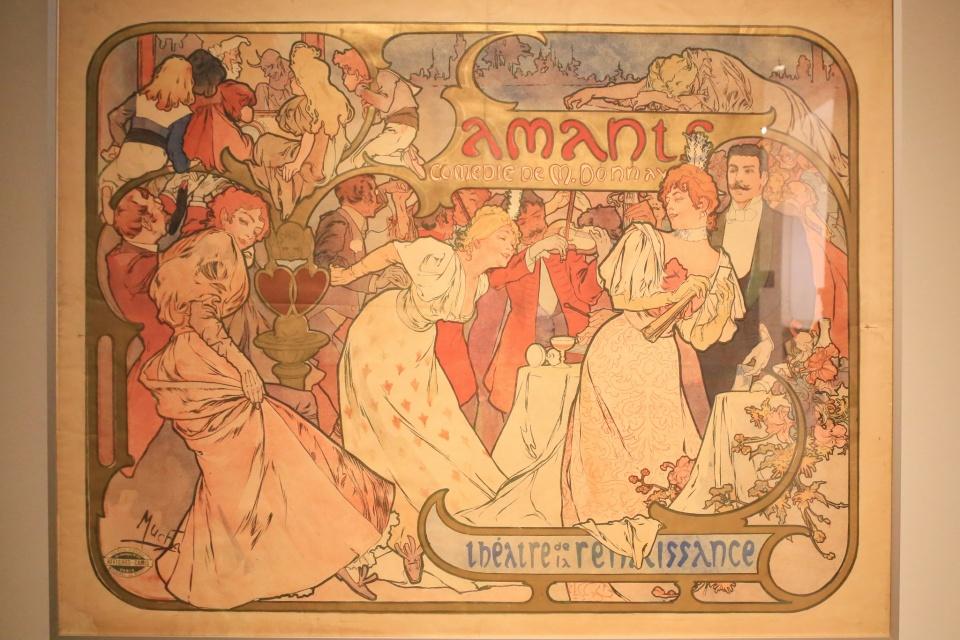 Alfons Mucha, Art Nouveau, Jugendstil, Museum fuer Kunst und Gewerbe, Hamburg, Germany, fotoeins.com