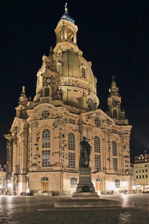 Frauenkirche, Neumarkt, Dresden, Sachsen, Germany, fotoeins.com