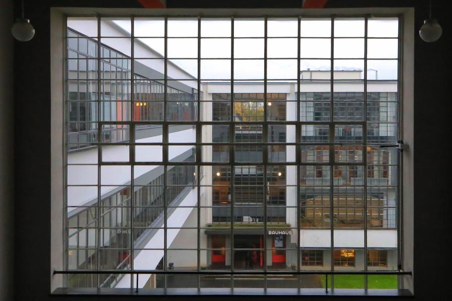 Bauhausgebäude, Bauhaus, Bauhaus Dessau, Dessau, Saxony-Anhalt, SachsenAnhalt, Germany, UNESCO, World Heritage, fotoeins.com