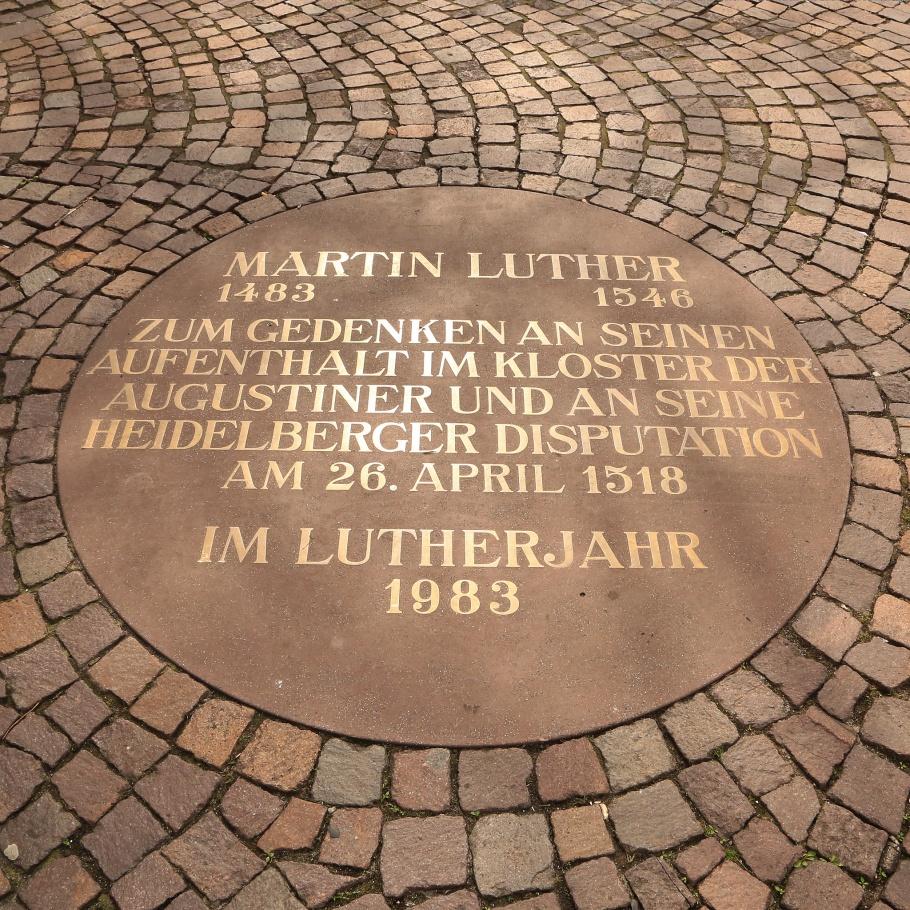 Martin Luther, Universitätsplatz, Heidelberg, Baden-Württemberg, Deutschland, Germany, fotoeins.com