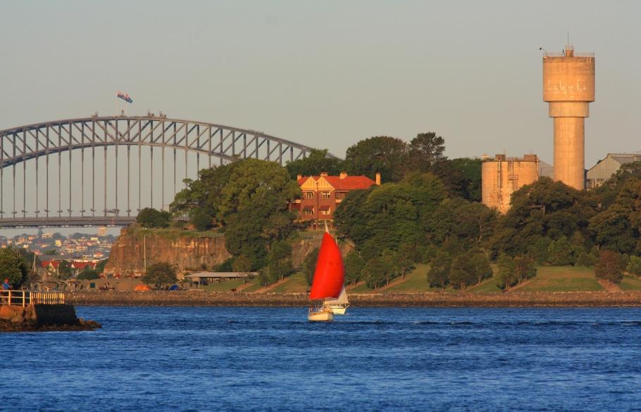Parramatta River, Sydney Ferries, near Cockatoo Island, Sydney, Australia, fotoeins.com