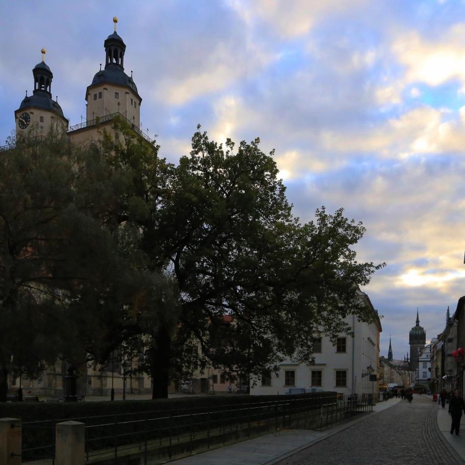 Stadtkirche, Stadtkirche St. Marien, St. Mary's Town Church, Schlosskirche, Castle Church, All Saints' Church, Lutherstadt Wittenberg, Wittenberg, Saxony-Anhalt, Sachsen-Anhalt, Germany, UNESCO World Heritage Site, fotoeins.com