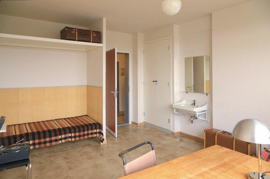 dessau unesco whs the bauhaus building. Black Bedroom Furniture Sets. Home Design Ideas