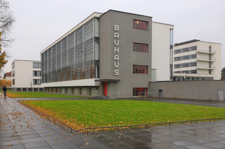 Bauhaus, Bauhaus Dessau, Dessau, Saxony-Anhalt, Sachsen-Anhalt, Germany, UNESCO, World Heritage, fotoeins.com