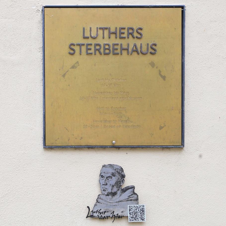 Museum Luther Death House, Museum Luthers Sterbehaus, Eisleben, Lutherstadt Eisleben, Saxony-Anhalt, Sachsen-Anhalt, Germany, UNESCO, World Heritage Site, fotoeins.com