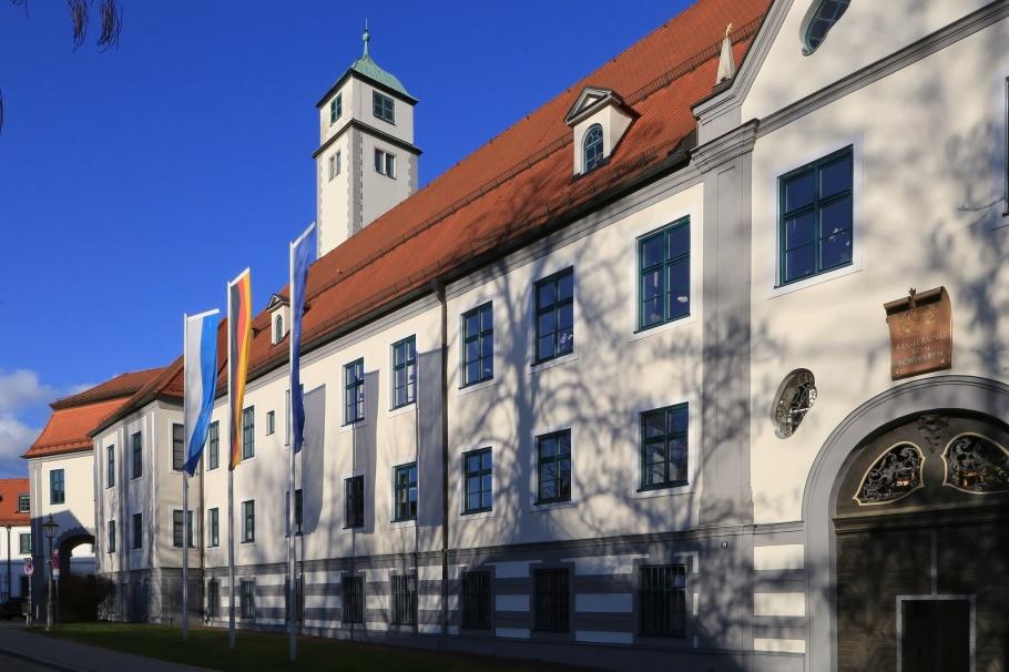 Residenz, Fronhof, Augsburg, Bayern, Bavaria, Germany, fotoeins.com