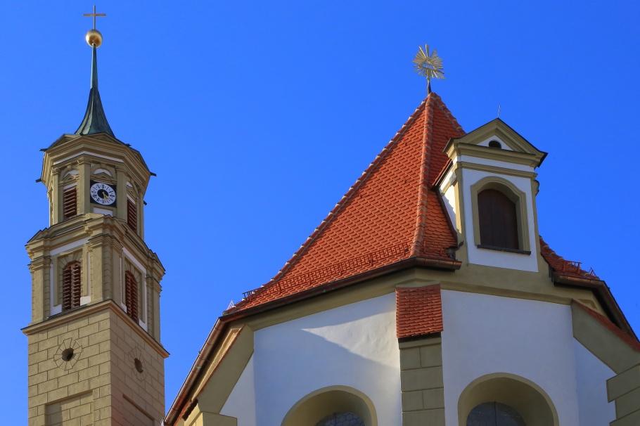 St.-Anna-Kirche, Augsburg, Bayern, Bavaria, Germany, fotoeins.com