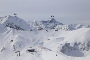 Fellhorn, Allgaeu Alps, Oberbayern, Fellhornbahn, Bavaria, Germany, Kanzelwand, Kanzelwandbahn, Mittelberg, Vorarlberg, Austria, fotoeins.com