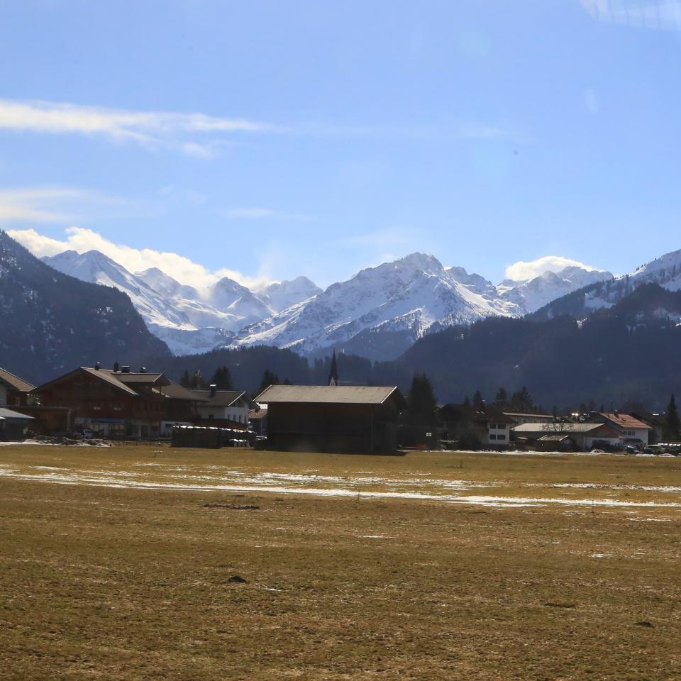 Oberstdorf, Oberbayern, Upper Bavaria, Bavaria, Allgaeu Alps, Alps, Germany, fotoeins.com