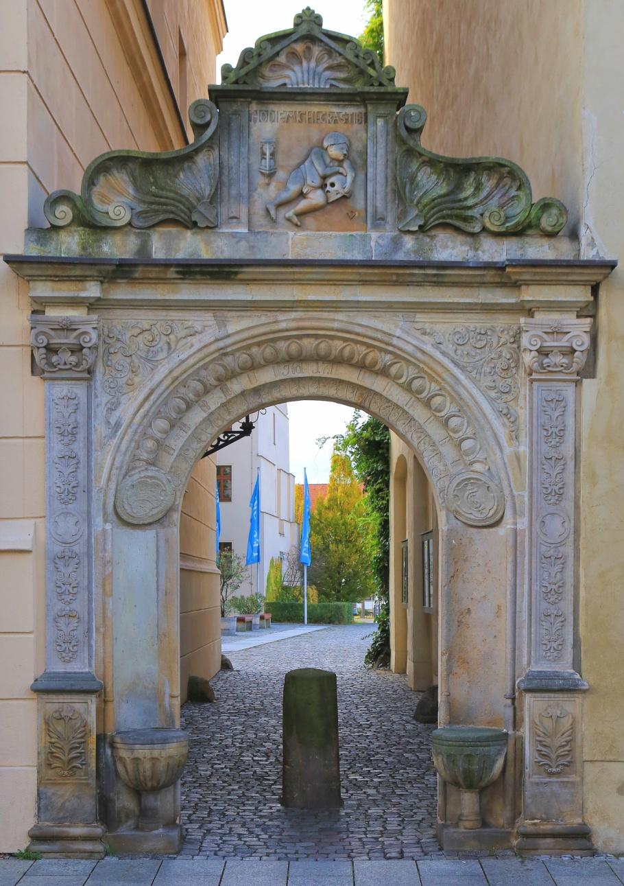 Leucorea, Fridericianum, Stiftung des öffentlichen Rechts an der Martin-Luther-Universität Halle–Wittenberg, Wittenberg, Lutherstadt Wittenberg, Saxony-Anhalt, Sachsen-Anhalt, Germany, fotoeins.com