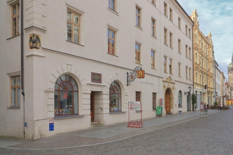 Cranach-Apotheke, Lutherstadt Wittenberg, Wittenberg, Saxony-Anhalt, Sachsen-Anhalt, Germany, fotoeins.com