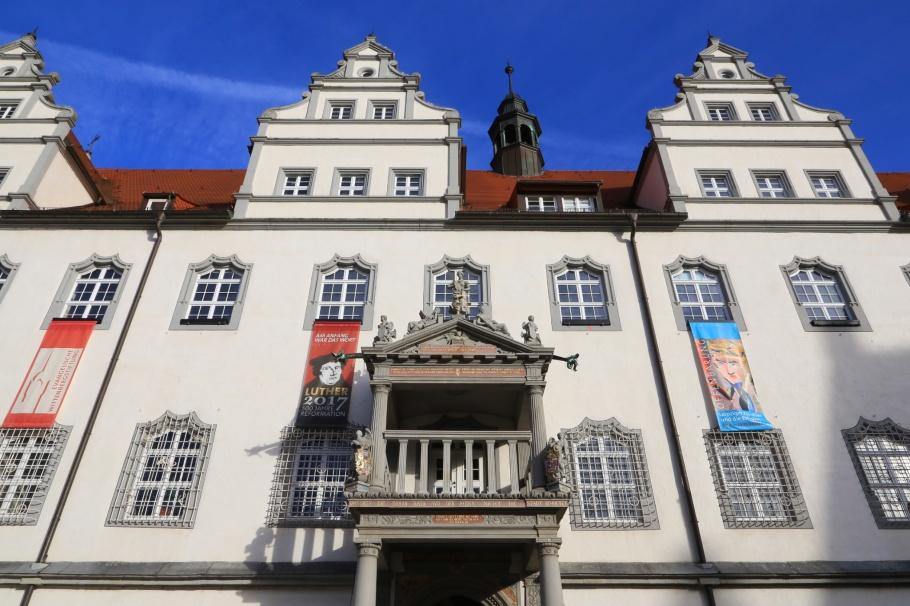 Wittenberger Rathaus, Lutherstadt Wittenberg, Wittenberg, Saxony-Anhalt, Sachsen-Anhalt, Germany, fotoeins.com