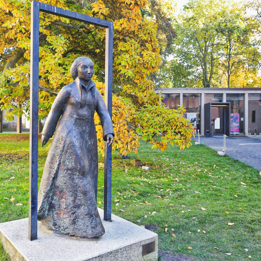 Katharina von Bora, Lutherhaus, Lutherstadt Wittenberg, Wittenberg, Saxony-Anhalt, Sachsen-Anhalt, Germany, fotoeins.com