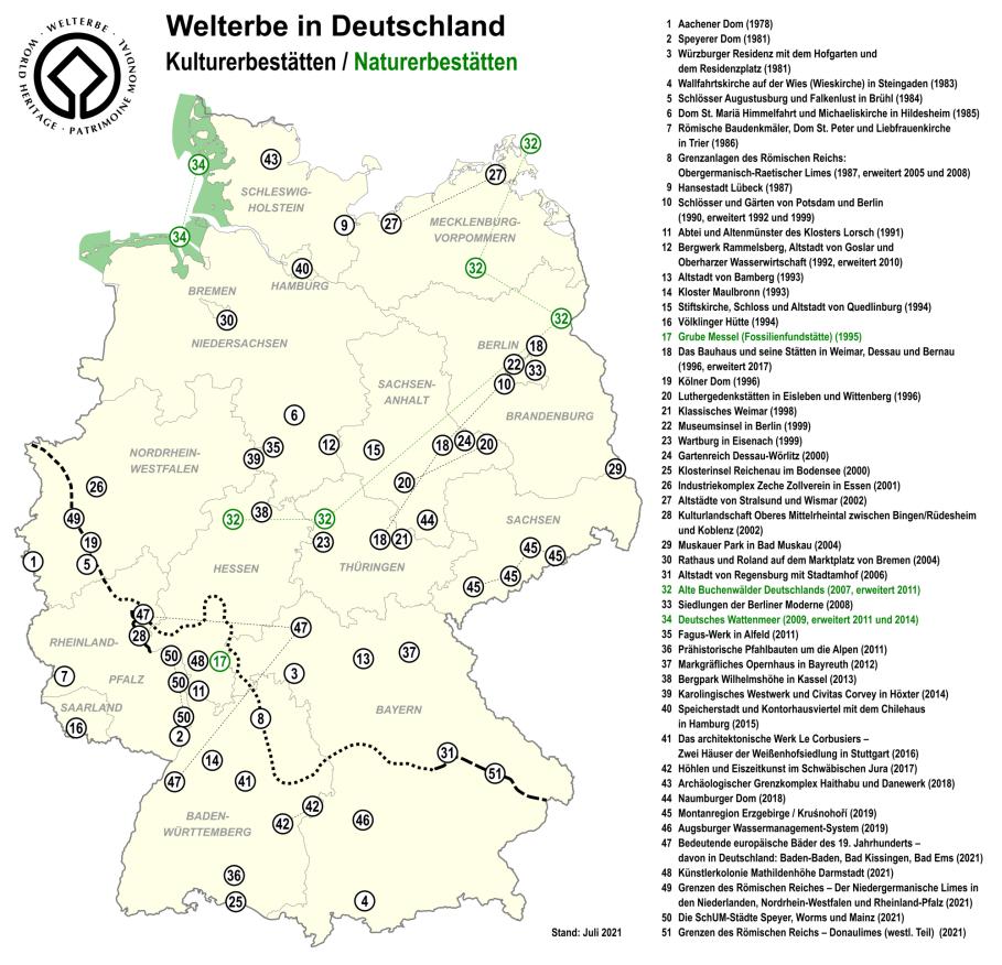 UNESCO DE, UNESCO, Germany, Deutschland, Welterbe, Weltkulturerbe, Weltnaturerbe, Welterbestätten