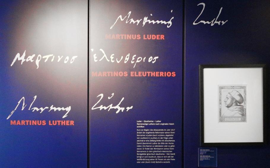 Luthers Geburtshaus, Luther Birth House, Eisleben, Lutherstadt Eisleben, Saxony-Anhalt, Sachsen-Anhalt, Germany, UNESCO, World Heritage Site, fotoeins.com