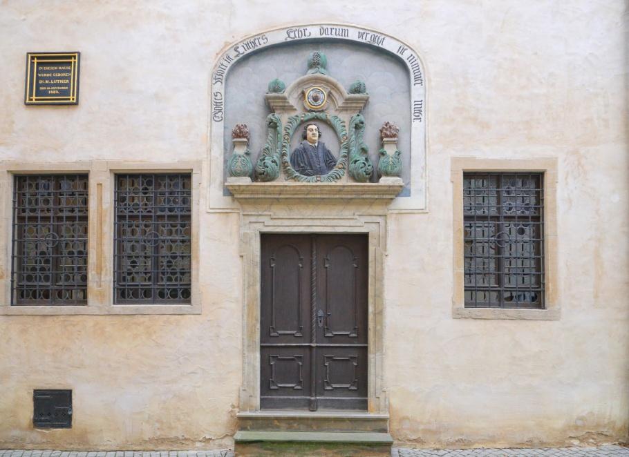 Luthers Geburtshaus, Luther Birthhouse, Eisleben, Lutherstadt Eisleben, Saxony-Anhalt, Sachsen-Anhalt, Germany, UNESCO, World Heritage Site, fotoeins.com