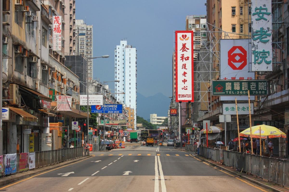 Fotoeins Friday Tai Po Street Scene Hong Kong