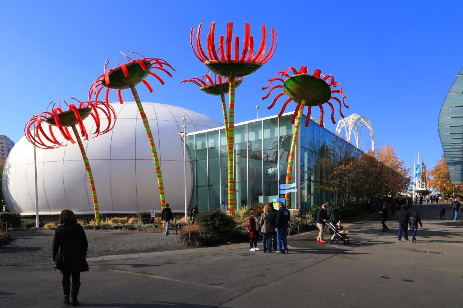 Sonic Bloom, Dan Corson, Pacific Science Center, Seattle Center, Space Needle, Seattle, WA, USA, fotoeins.com