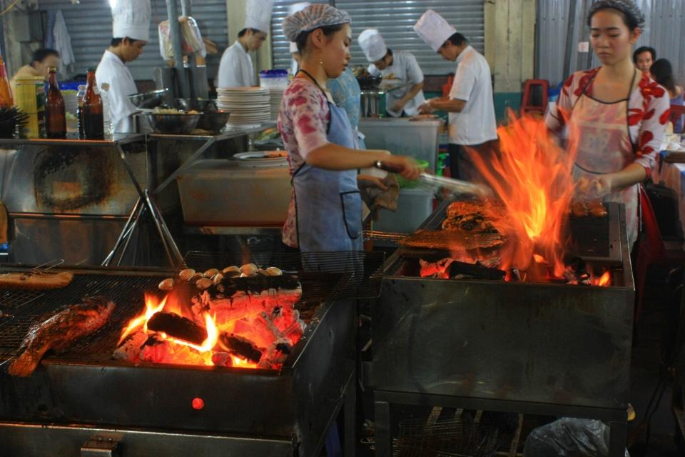 Ben Thanh Market, Lê Lợi, Bến Thành, Saigon, Ho Chi Minh City, Vietnam, myRTW, fotoeins.com