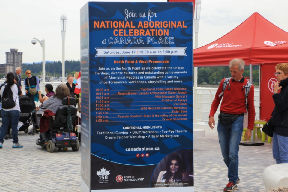 National Aboriginal Celebration, Canada Place, Vancouver, BC, Canada, fotoeins.com