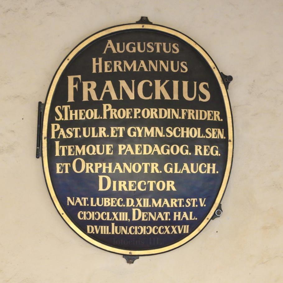 August Hermann Francke, Stadtgottesacker cemetery, Halle an der Saale, Halle, Saale river, Saale, Sachsen-Anhalt, Saxony-Anhalt, Cultural Heart of Germany, Germany, fotoeins.com