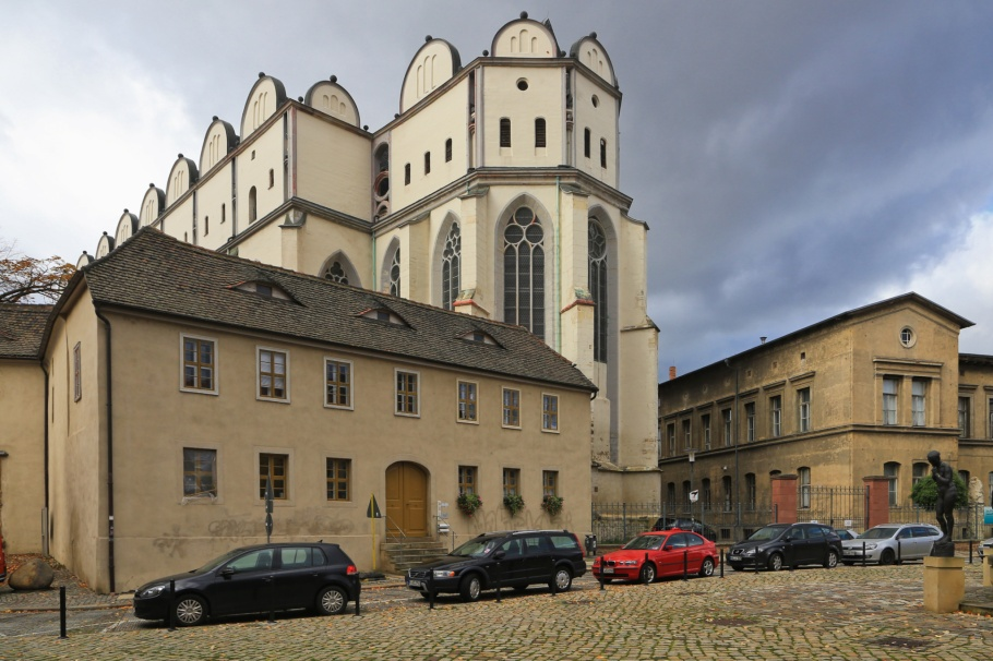 Hallescher Dom, Halle Cathedral, Halle (Saale), Halle an der Saale, Saxony-Anhalt, Sachsen-Anhalt, Germany, Deutschland, fotoeins.com