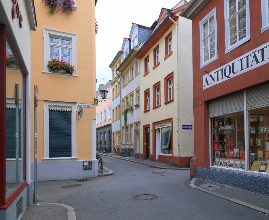 Heidelberger Altstadt, Altstadt, Heidelberg, Baden-Wuerttemberg, Germany, fotoeins.com