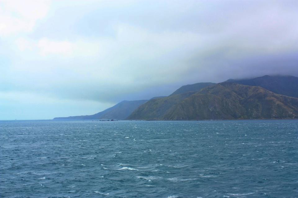 Interislander, Sinclair Head, Te Rimurapa, Cook Strait, Raukawa, North Island Te Ika a Maui, New Zealand, Aotearoa, myRTW, fotoeins.com