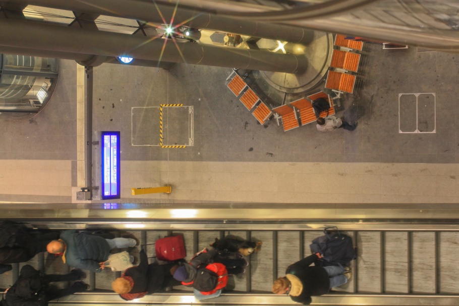 2. Weihnachtstag, Boxing Day, Berlin Hauptbahnhof, Berlin, Germany, fotoeins.com