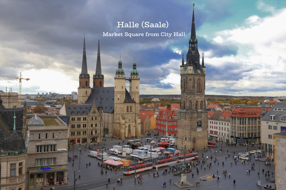 Halle (Saale): sweet & savoury highlights in the Händelstadt