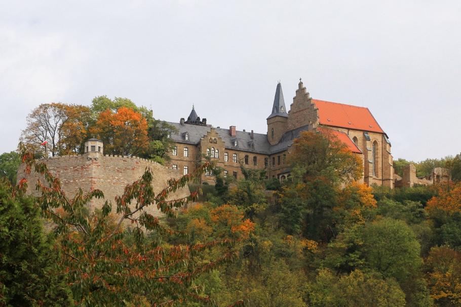 Schloss Mansfeld, Mansfelder Land, Luther Country, Mansfeld Südharz, Mansfeld Lutherstadt, Mansfeld, Saxony-Anhalt, Sachsen-Anhalt, Germany, fotoeins.com