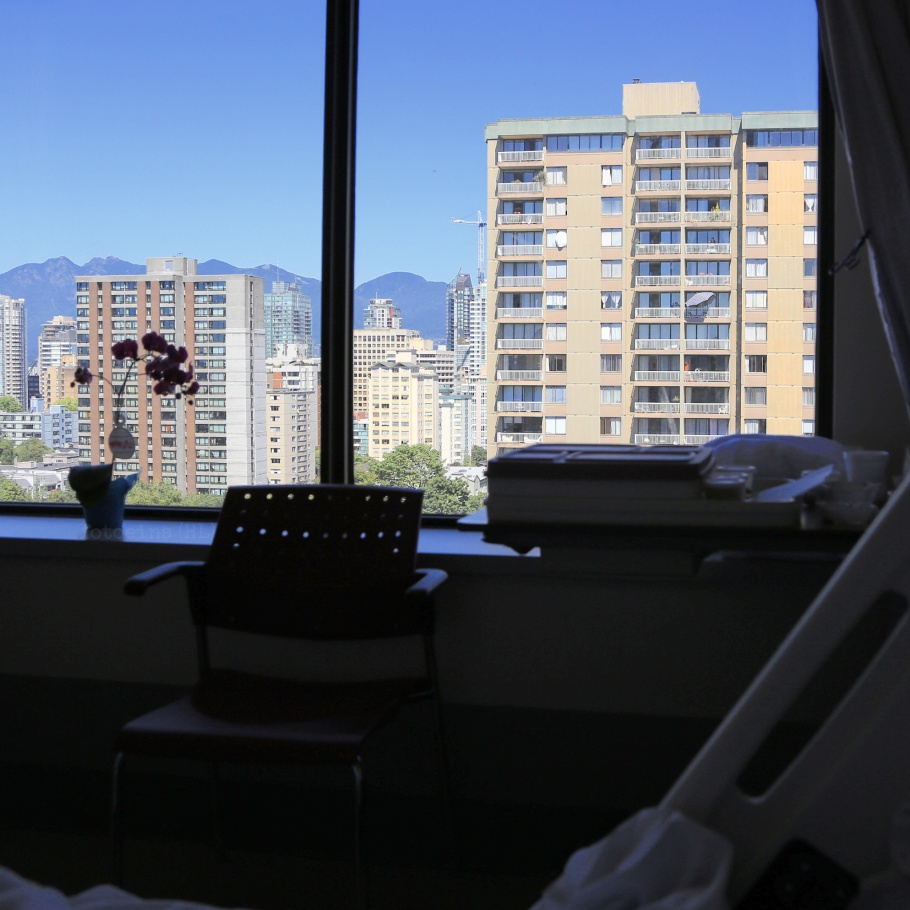 Palliative Care Unit, St. Paul's Hospital, Vancouver, BC, Canada