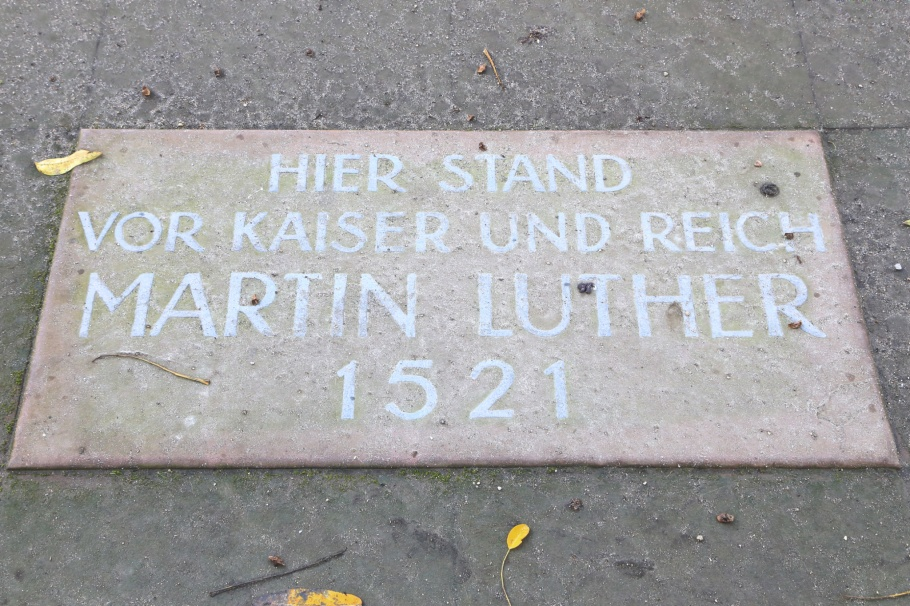 Martin Luther, Diet of Worms, Emperor Charles V, Reformation, Reformation 500, Luther 2017, Worms, Rheinland-Pfalz, Rhineland-Palatinate, Germany, fotoeins.com