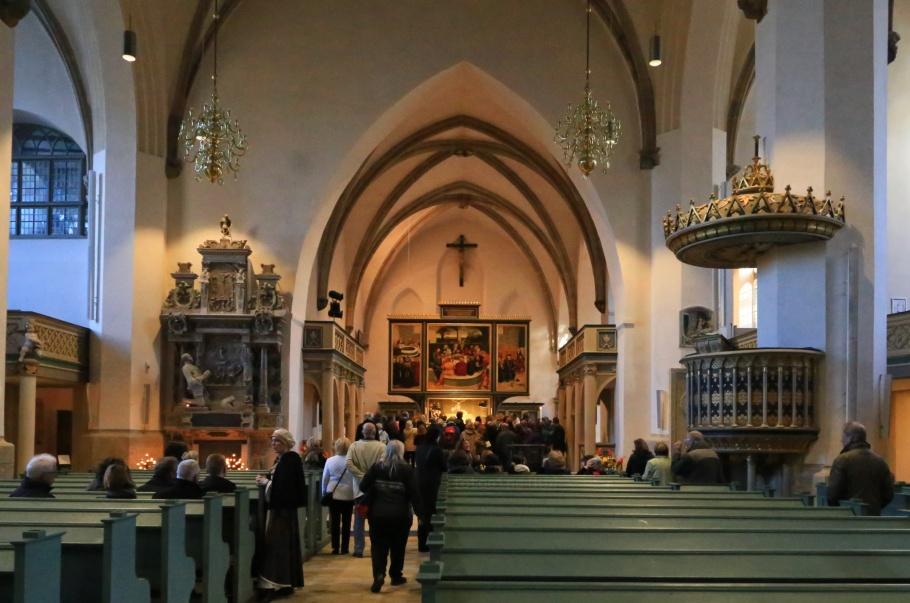 Stadt- und Pfarrkirche St. Marien, St. Mary's Town and Parish Church, Wittenberg, Saxony-Anhalt, Sachsen-Anhalt, UNESCO, World Heritage, Luther Country, Luther 2017, Germany, fotoeins.com