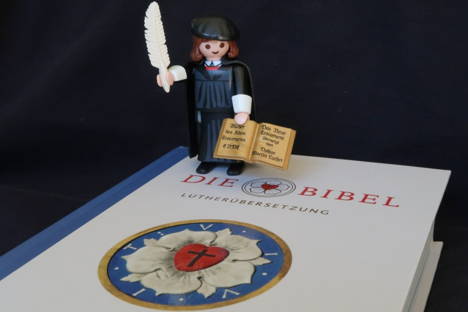 Martin Luther, Playmobil, Luther Bible, Lutherbibel, Pxhere, CC0