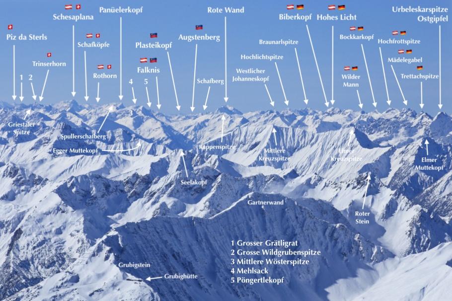 Alps, Austria, Liechtenstein, Switzerland, Zugspitze, Germany, fotoeins.com