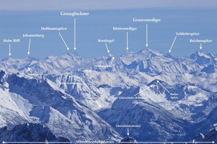 Alps, Austria, Zugspitze, Germany, fotoeins.com