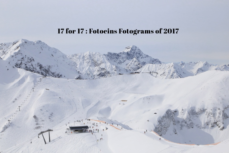 17 for 17, Fotoeins Fotograms of 2017, fotoeins.com