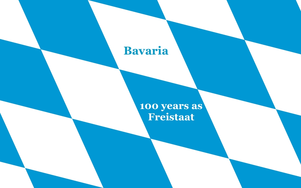 Freistaat Bayern, The Free State of Bavaria