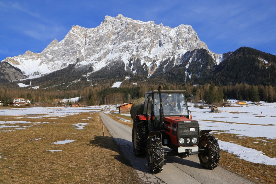 Ehrwald, Tirol, Tyrol, Austria, Oesterreich, Zugspitze, Wetterstein, Wettersteingebirge, Wetterstein mountains, Alps