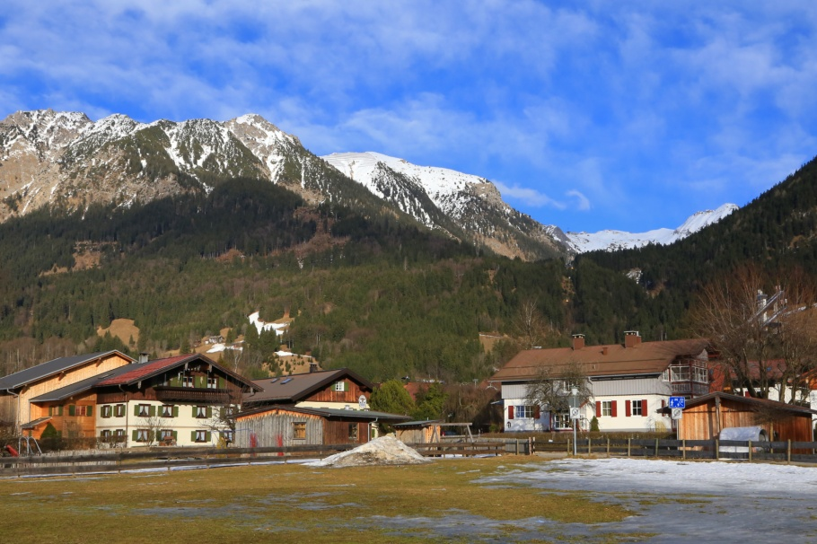 Allgäuer Alps, Bavarian life, Oberstdorf, Germany, fotoeins.com