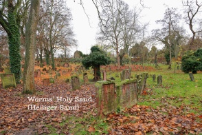 Holy Sand, Jewish cemetery, Worms, Warmaisa, Schum Cities, Rheinland-Pfalz, Rhineland-Palatinate, Germany, fotoeins.com