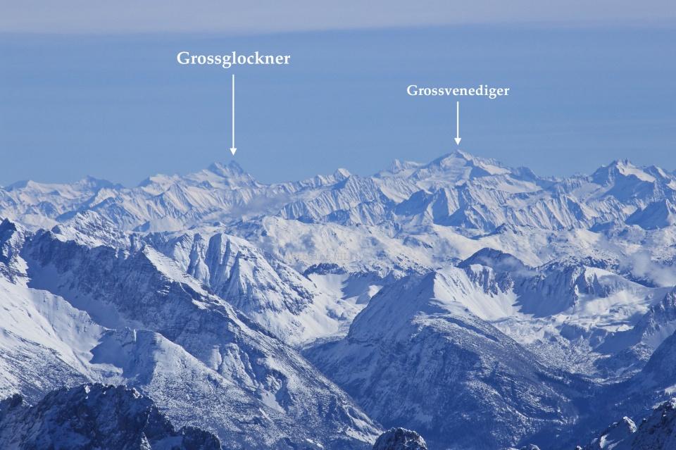 Grossglockner, Grossvenediger, Hohe Tauern, Austria, Oesterreich, Alps, Zugspitze, Germany, fotoeins.com