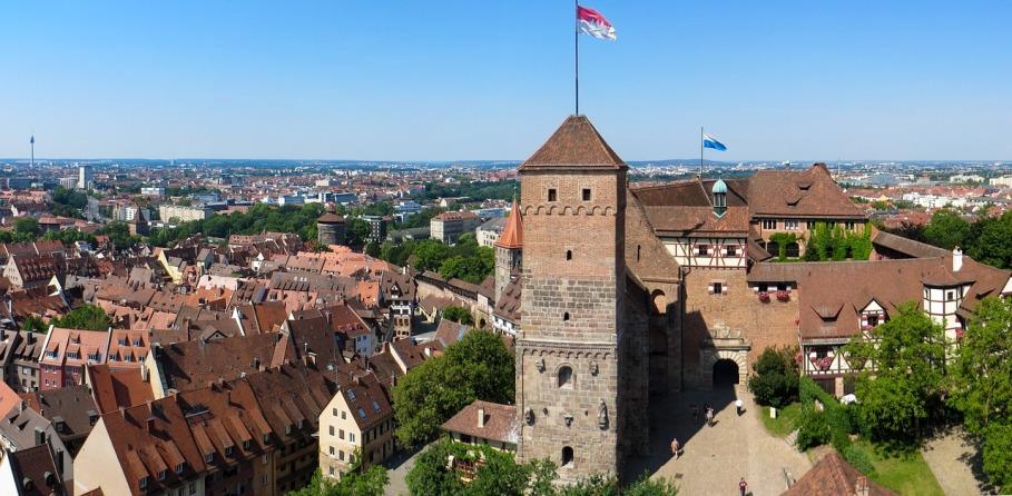 Nuernberg Kaiserburg (Gerhard Gellinger, Pixabay CC0)