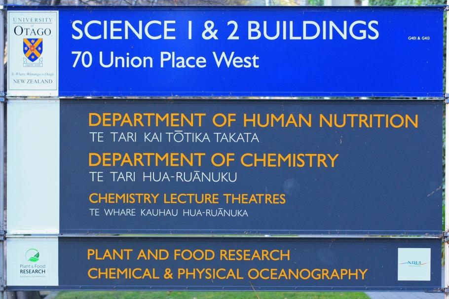 University of Otago, Te Whare Wānanga o Otāgo, Dunedin, Otago, South Island, Te Waipounamu, New Zealand, Aotearoa, fotoeis.com