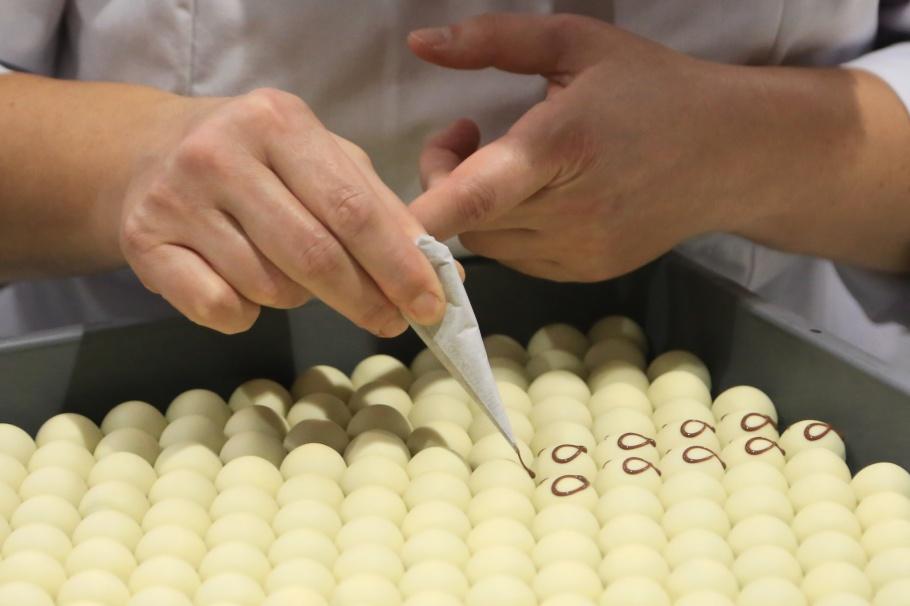 Halloren Schokoladenfabrik, chocolates, Halle (Saale), Sachsen-Anhalt, Saxony-Anhalt, Germany, fotoeins.com