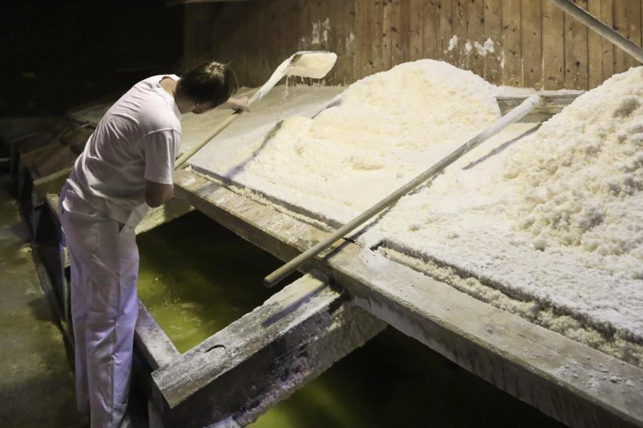 salt-making, Halloren- und Salinemuseum Halle, Halloren, Salinemuseum, Halle (Saale), Halle, Saxony-Anhalt, Sachsen-Anhalt, Germany, fotoeins.com