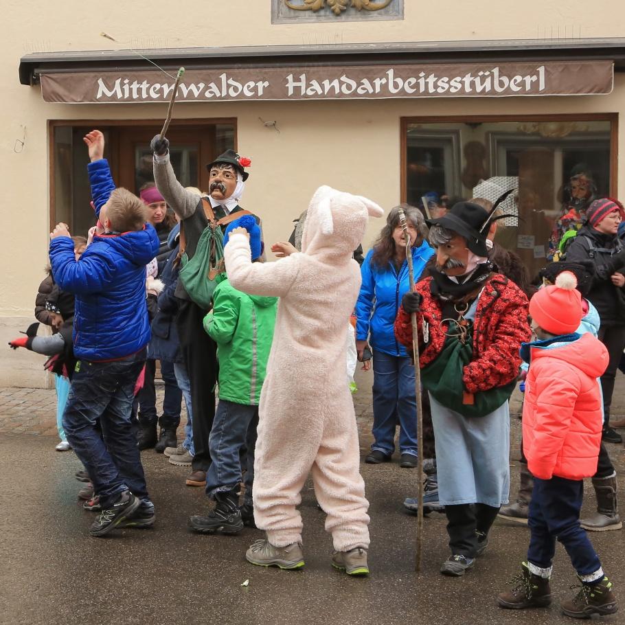 Maschkera, Fosnocht, Fasching, Mittenwald, Bavaria, Bayern, Germany, fotoeins.com